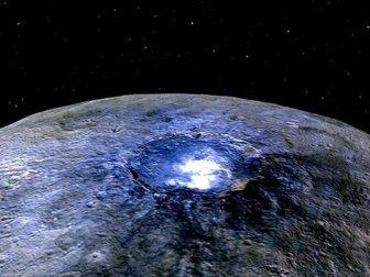 Ceres'te Organik Bileşkeler Bulundu