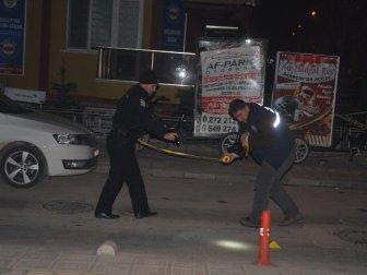 Afyonkarahisar, Osman Atilla Caddesi'nde Silahlı Kavga: 1 Yaralı