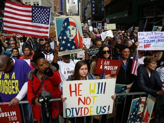 Müslümanlardan ABD'de eylem!