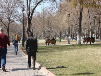 Gaziantep'te 10 Derecenin Üstünde Bahar Havası
