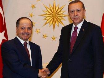 Erdoğan ve Barzani'nin görüşeceği tarih