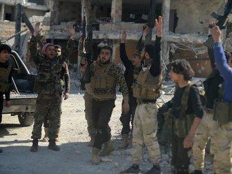 TSK Destekli ÖSO Birlikleri Bab'ın Alınmasını Kutladı