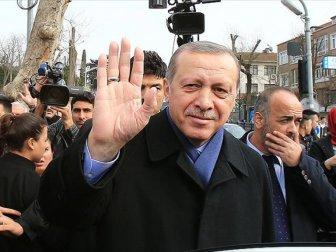 Erdoğan'dan Doğum Günü için Teşekkür Mesajı