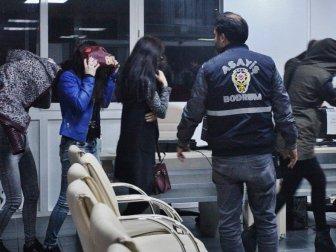 Bodrum'da Fuhuş Operasyonu: 9 Kişi Gözaltına Alındı