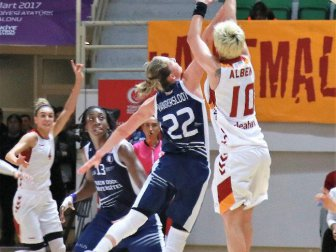 PTT Kadınlar Türkiye Kupası, Galatasaray 62-78 Yakın Doğu Üniversitesi