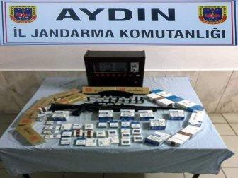 Didim'de Terör Örgütü Üyesi Kokoreççi Kaçak Sigara Satarken Yakalandı