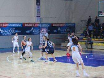 Türkiye Kadınlar Basketbol Ligi, Elazığ İl Özel İdaresi 68-62 İzmit Belediyespor