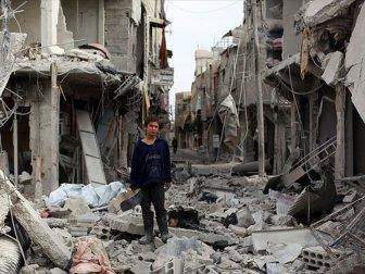 Suriye'de Şubat Ayında 876 Sivil Hayatını Kaybetti