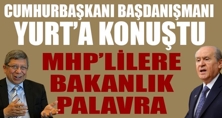 MHP'lilere bakanlık palavra!
