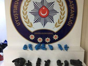 Kahramanmaraş, Odun Pazarında Gece Bekçisi Uyuşturucudan Gözaltına Alındı