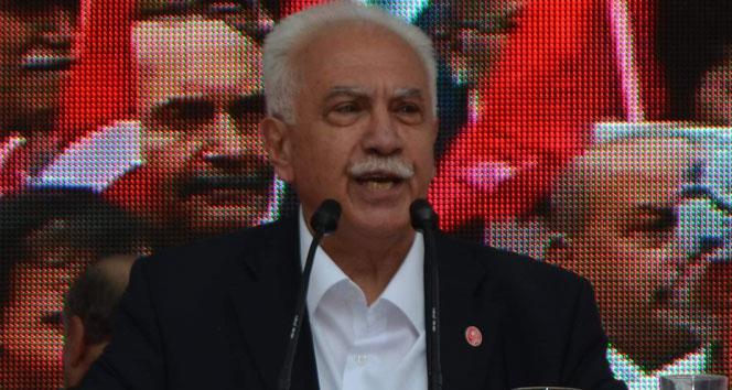 Doğu Perinçek'ten Cumhurbaşkanı Erdoğan'a  Menbiç desteği
