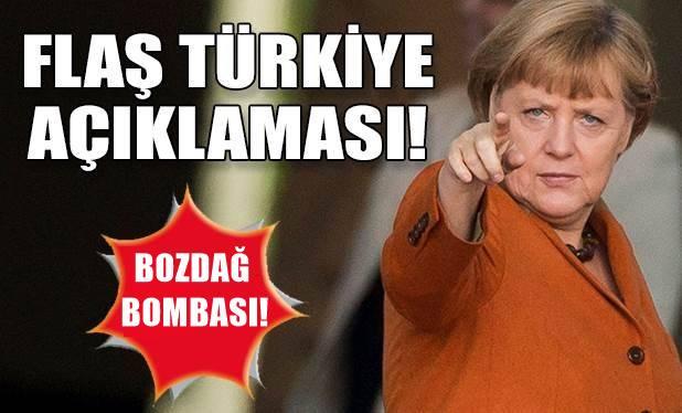 Merkel, Bozdağ'ın iptal edilen mitingine ilişkin konuştu