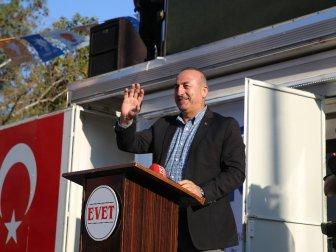 """Bakan Çavuşoğlu: """"CHP İçinde Pkk'yı Destekleyen, Dhkp-C'li Milletvekilleri..''"""