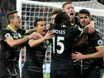 Premier Lig, Chelsea 2-1 West Ham United