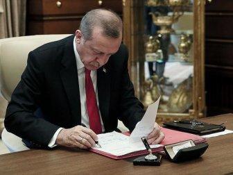 Cumhurbaşkanı Recap Tayyip Erdoğan, 34 Kanunu Onayladı