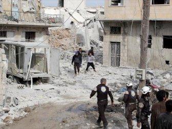 Suriye'de Rejim Uçaklarının Hava Saldırısında 4 Sivil Hayatını Kaybetti