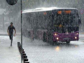 Meteoroloji'den Yağış Uyarısı verilen iller
