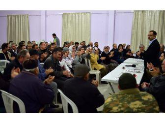 """Başkan Cahan Köy Köy Gezerek """"Evet"""" Kararının Önemini Anlatıyor"""