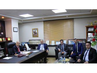 Müdür Keremoğlu'ndan Başkan Karael'e Ziyaret