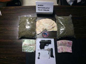 Bursa Polisinden Uyuşturucu Operasyonu