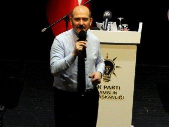 """Bakan Süleyman Soylu: """"Dünyanın En Pahalı Arazisi Üzerinde Oturuyoruz"""""""