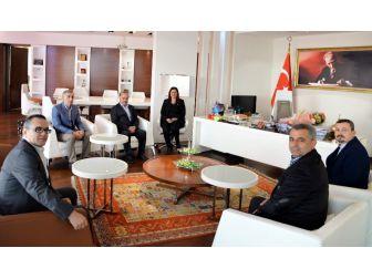 Tariş'den Başkan Çerçioğlu'na Teşekkür Ziyareti