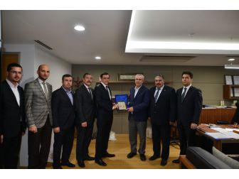 Askon Ve Özbek Diplomatlardan Adana Sanayi Odası'na Ziyaret