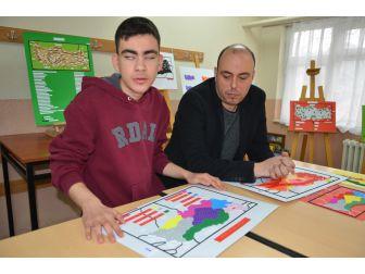 Görme Engelli Öğrenciden Anlamlı Proje