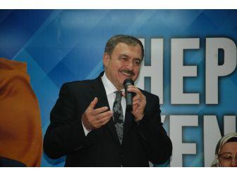 Orman Ve Su İşleri Bakanı Veysel Eroğlu, Edremit'e Geliyor