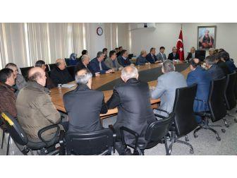 Bartın'da Mart Ayı Muhtarlar Toplantısı Yapıldı