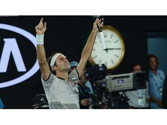 'Majesteleri' Federer Çeyrek Finalde
