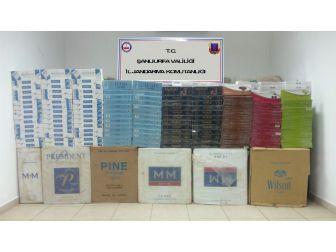 Şanlıurfa'da 45 Bin 500 Paket Kaçak Sigara Ele Geçirildi
