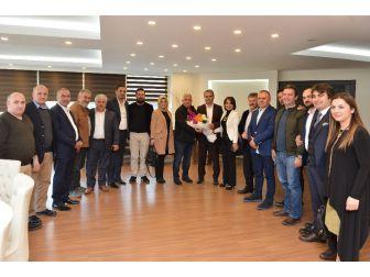 Başkan Uysal, Karadenizlileri Ağırladı