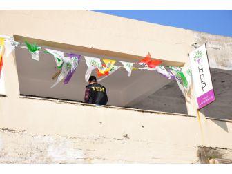 Milas'ta Polis Hdp Binasını Aradı