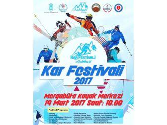 Hakkari'de Kar Festivali