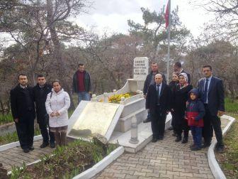Sgk Personeli, Çanakkale Kahramanı Koca Seyit'i Mezarı Başında Andı