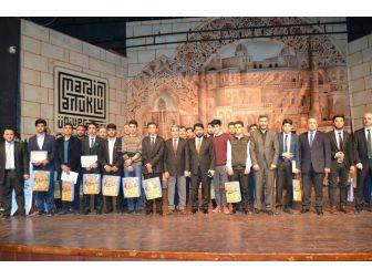 Mardin'de 'Hafızlık Ve Ezanı Güzel Okuma' Yarışması Yapıldı