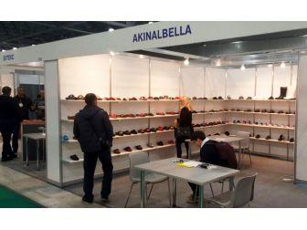 Akınal Ayakkabıcılık Moskova Fuarında