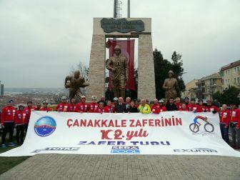 Büyükçekmece'den Çanakkale'ye Zafer Turu