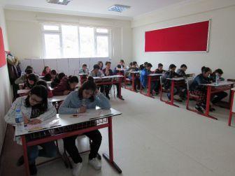 Çözüm Koleji 'Bursluluk Sınavına' Yoğun İlgi
