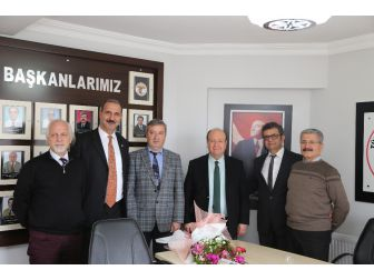 Başkan Özakcan, Aydın Tabip Odasını Ziyaret Etti
