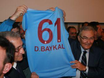 Baykal Trabzon'da Konuştu