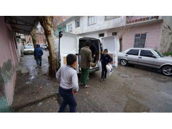 Adıyaman Belediyesinden Afgan Ailelere Yardım