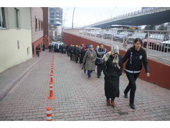 Kayseri'de Fetö/pdy Operasyonunda Gözaltına Alınan 24 Kişi Adliyeye Sevk Edildi