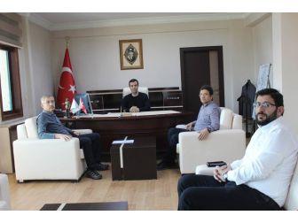 Ankara Büyükşehir Belediyesinde Kaymakam Vardar'a Ziyaret