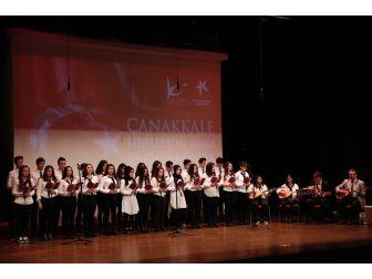 Zaferin 102'nci Yılında Çanakkale Şehitleri Anıldı