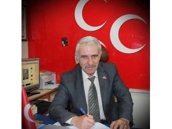 Mhp Daday İlçe Başkanı Yirmibeşoğlu İstifa Etti
