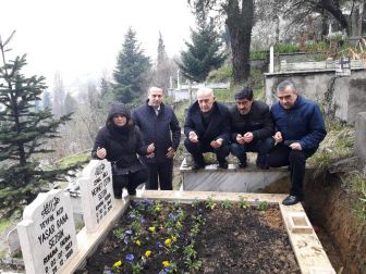 Gazeteci Çetin Sezgin Ölümünün 3. Yılında Mezarı Başında Anıldı