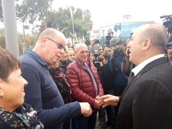 Bakan Çavuşoğlu, Yerleşik Hollandalılarla Sohbet Etti