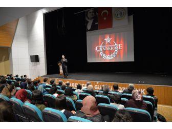 """Bozüyük Belediyesi'nin """"Çanakkale Ruhu"""" Konferansı"""